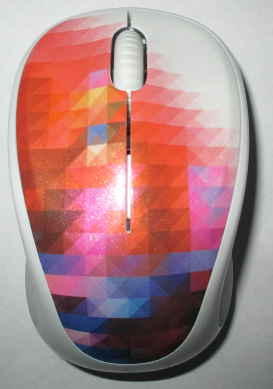 Logitech m317 2.4G Wireless 3-Button Optical Scroll Mouse -Solar