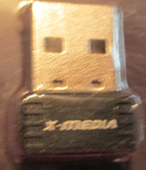 X-Media XM-WN1200 150Mbps Wireless-N USB 2.0 Ultra Mini Adapter
